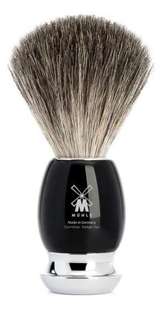 Купить Помазок Черная смола Intro Vivo (натуральный барсучий ворс), Muehle