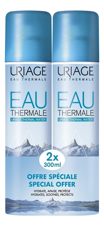 Термальная вода Eau Thermale Thermal Water: Вода 2*300мл vichy термальная вода eau thermale 150 мл