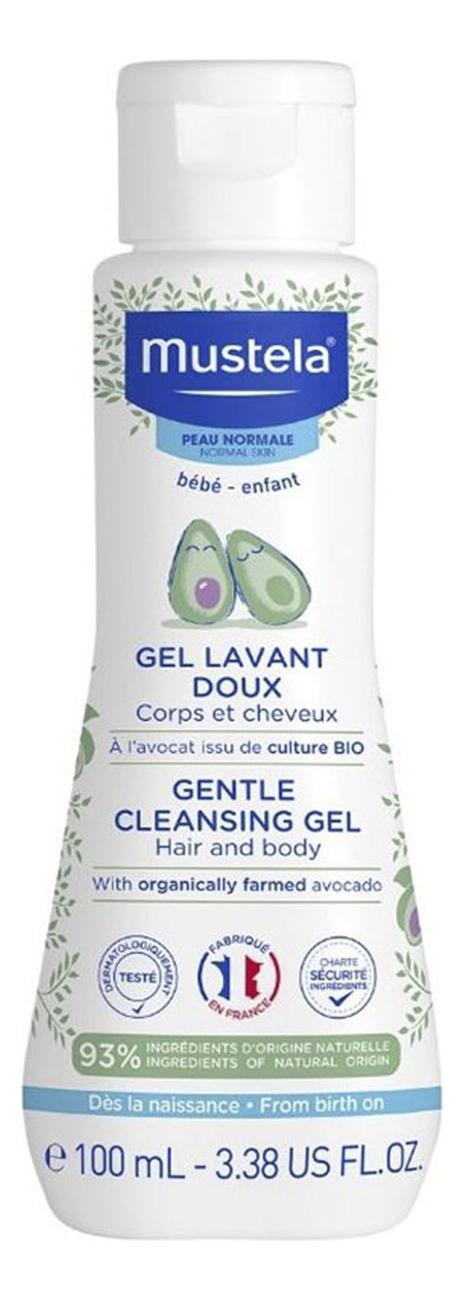 Мягкий гель для купания Gel Lavant Doux 100мл mustela гель gel lavant nourrissant au cold cream питательный для купания с кольд кремом бебе 300 мл