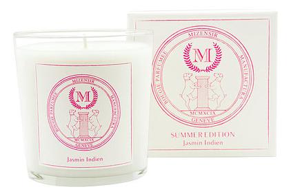 Ароматическая свеча Jasmin Indien: свеча 230г свеча от комаров argus