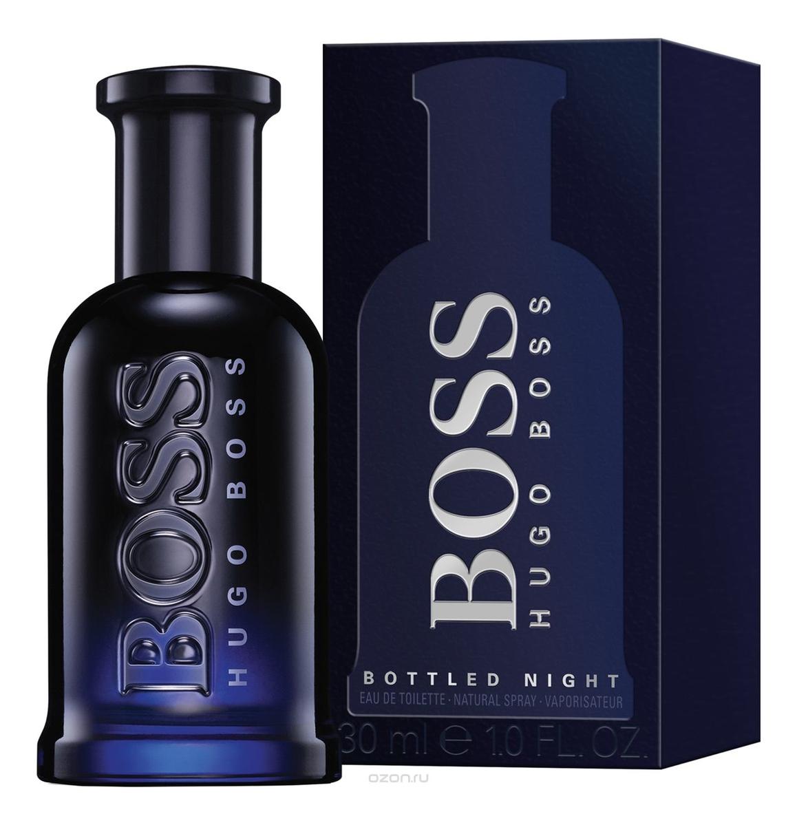 Hugo Boss Boss Bottled Night: туалетная вода 30мл туалетная вода hugo boss boss bottled night 30 мл