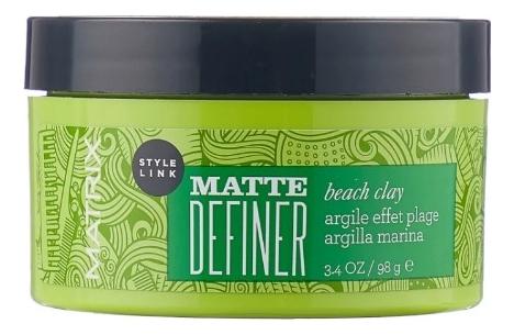 Матовая глина для укладки волос Style Link Matte Definer Beach Clay 100г