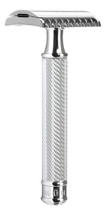 Купить бритва Т-образная Хром Traditional (безопасная бритва с открытым гребнем Open Comb) Muehle в Самаре, т-образные бритвы открытого типа по выгодной цене, смотреть фото и отзывы в интернет-магазине Randewoo.ru