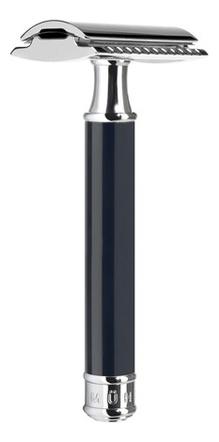 Бритва Т-образная Черная смола Traditional (безопасная бритва со сменным лезвием) бритва т образная смола цвет карамели modern stylo