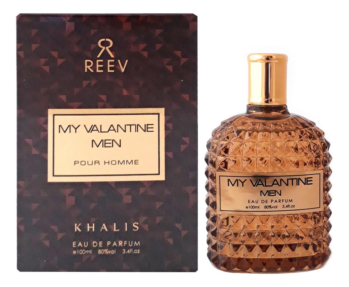 Khalis Reev My Valantine Men Pour Homme: парфюмерная вода 100мл