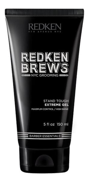 Гель для укладки волос Brews Stand Tough Gel 150мл гель для укладки волос artisan gel ginfix compact modelling gel 150мл