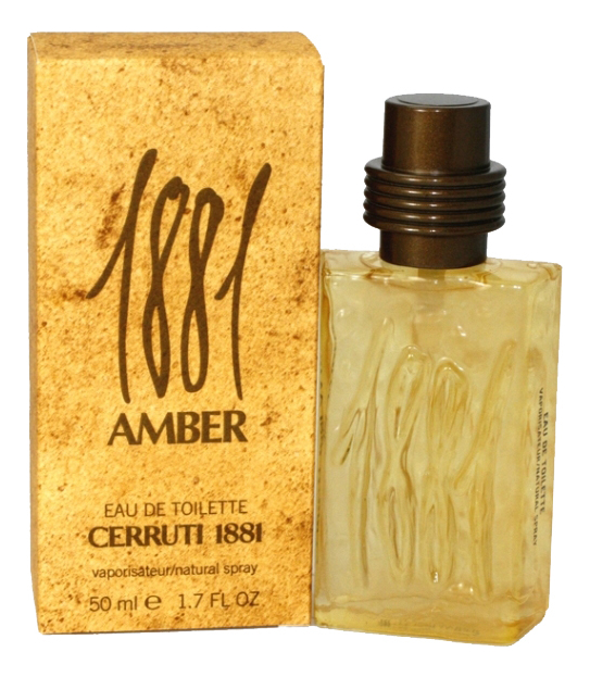 1881 Amber Pour Homme Винтаж: туалетная вода 50мл туалетная вода cerruti 1881 1881 pour femme 100 мл
