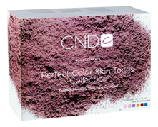CND Набор цветных пудр для ногтей Skin Tones Collection 6*22г (Warm Pink + Yellow Opaque + Neutral Pink + Blue + Cool Pink + Brown Shimmer)