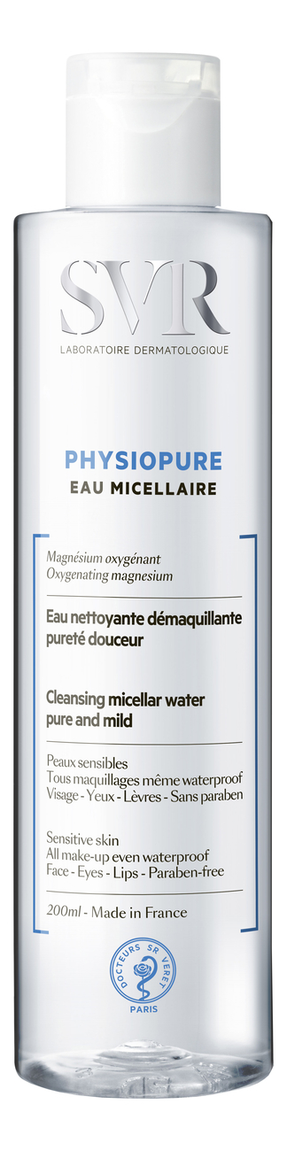 Фото - Мицеллярная вода Physiopure Eau Micellaire: Вода 200мл biotherm biosource eau micellaire