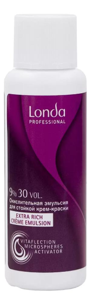 Окислительная эмульсия для волос Londacolor Extra Rich Creme Emulsion 60мл: Эмульсия 9%
