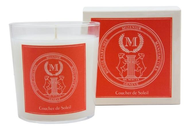 Купить Ароматическая свеча Coucher De Soleil: свеча 230г, Mizensir