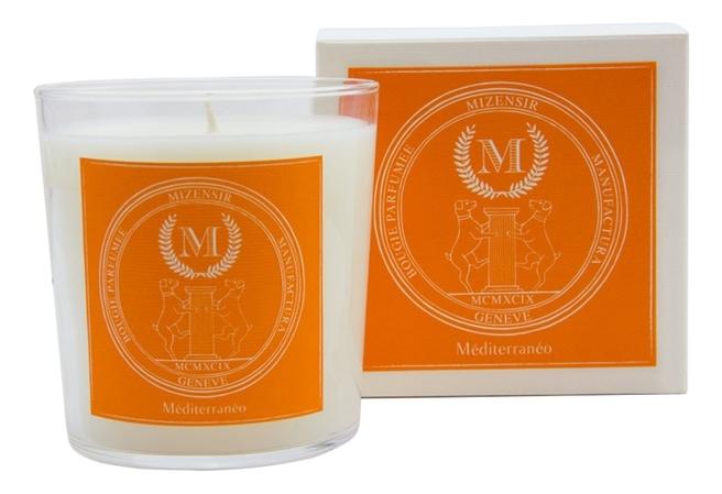Ароматическая свеча Mediterraneo: свеча 230г свеча от комаров argus