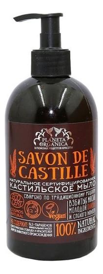 Купить Жидкое мыло для тела Кастильское Savon de Castille 500мл, Planeta Organica