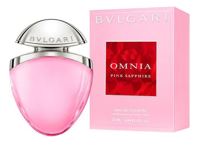 Bvlgari Omnia Pink Sapphire: туалетная вода 25мл