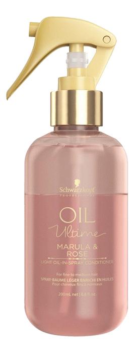 Спрей-кондиционер для тонких и нормальных волос Oil Ultime Light In Spray Conditioner 200мл