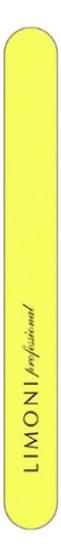 Пилочка для ногтей прямая 320*320 Color (желтая)