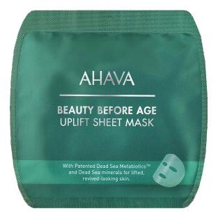 Купить Тканевая маска для лица с подтягивающим эффектом Beauty Before Age Uplift Sheet Mask 17г, AHAVA