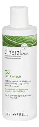 Шампунь для кожи головы Clineral Pso Ahava Scalp Shampoo 250мл