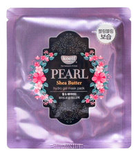 Koelf Гидрогелевая маска для лица с экстрактом жемчуга Pearl & Shea Butter Hydro Gel Mask Pack
