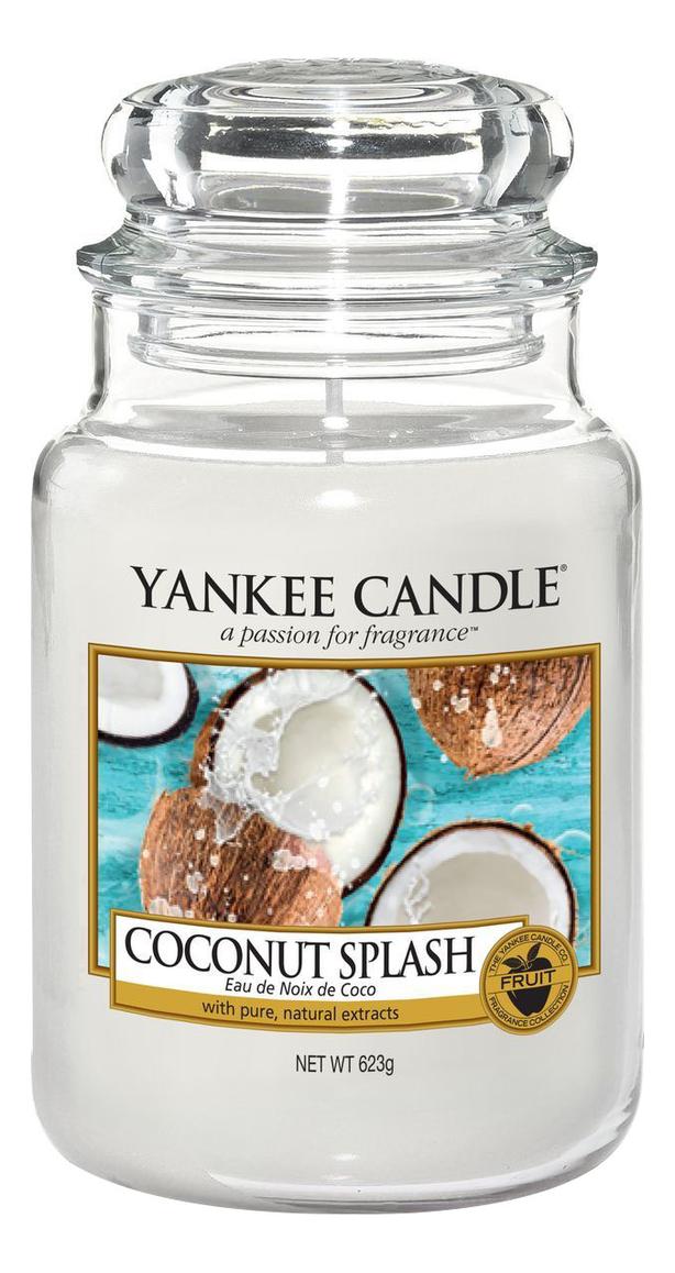 Ароматическая свеча Coconut Splash: Свеча 623г свеча от комаров argus
