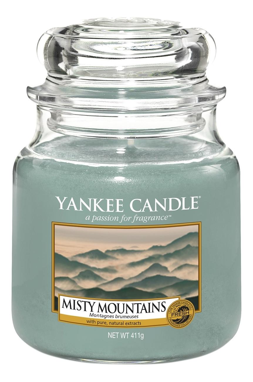 Ароматическая свеча Misty Mountains: Свеча 411г кроссовки детские adidas fortagym cf k цвет фуксия ah2561 размер 34 32