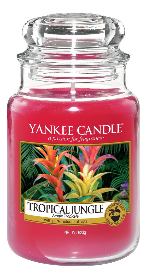 Ароматическая свеча Tropical Jungle: Свеча 623г