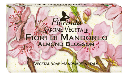 Купить Натуральное мыло Aria Fiorita Fiori Di Mandorlo: Мыло 100г, Florinda