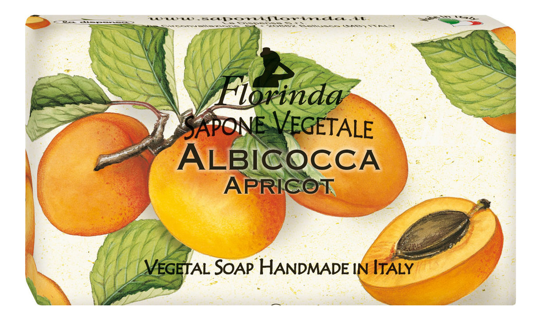 Фото - Натуральное мыло Passione Di Frutta Albicocca 100г натуральное мыло passione di frutta uva e mirtillo 100г мыло 100г