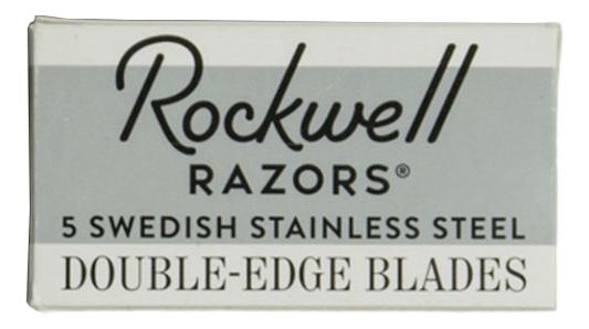 Сменные лезвия для Т-образного станка Razors Double-Edge Blades 5 лезвий