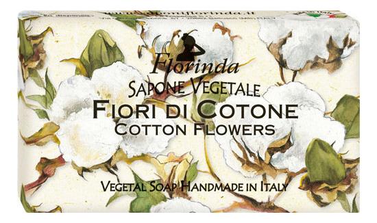 Натуральное мыло Magie Dei Fiori Di Cotone 100г дж вариско alla caccia dei fiori