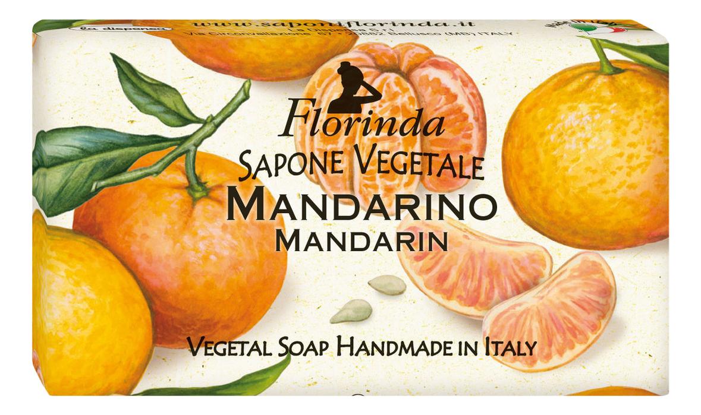 Фото - Натуральное мыло Passione Di Frutta Mandarino 100г натуральное мыло passione di frutta uva e mirtillo 100г мыло 100г
