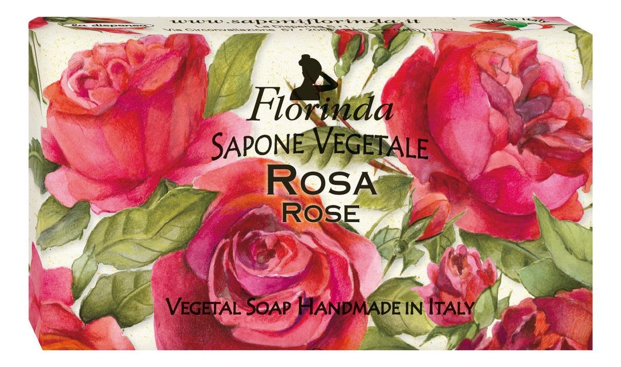 Натуральное мыло Magie Dei Fiori Rosa 100г дж вариско alla caccia dei fiori