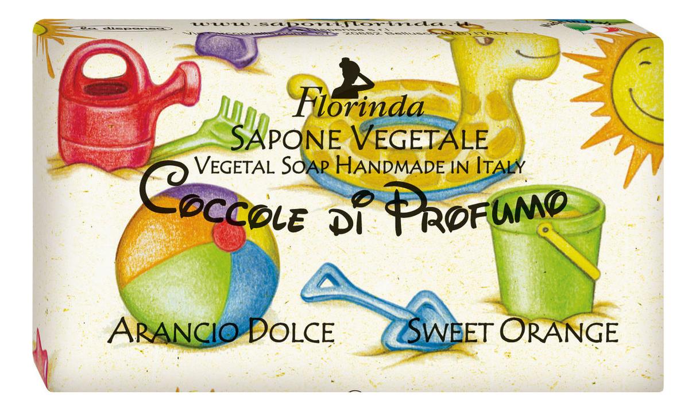 Натуральное мыло Coccole Di Profumo Arancio Dolce 100г натуральное мыло dolce vita antica purezza 100г