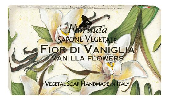 Натуральное мыло Magie Dei Fiori Fior Di Vaniglia 100г дж вариско alla caccia dei fiori