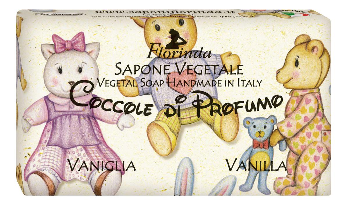 Фото - Натуральное мыло Coccole Di Profumo Vaniglia 100г profumo di donna юбка до колена