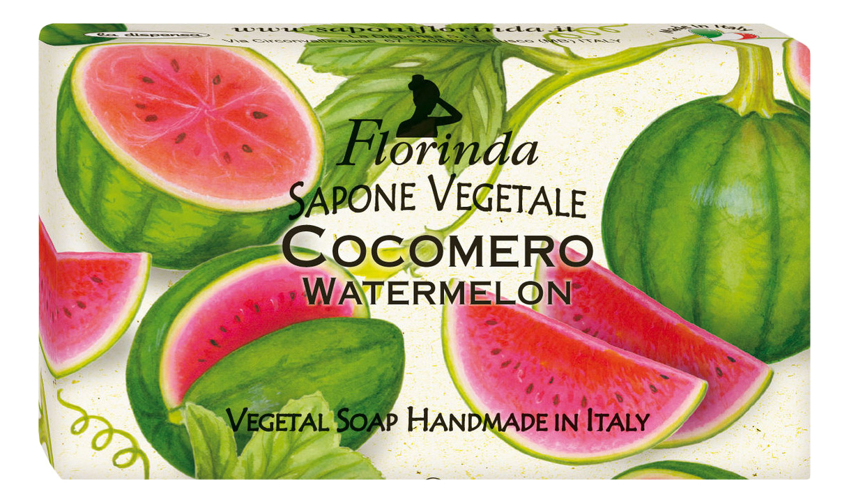 Фото - Натуральное мыло Passione Di Frutta Cocomero 100г натуральное мыло passione di frutta uva e mirtillo 100г мыло 100г