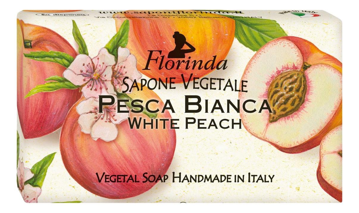 Фото - Натуральное мыло Passione Di Frutta Pesca Bianca 100г: Мыло 100г натуральное мыло passione di frutta uva e mirtillo 100г мыло 100г