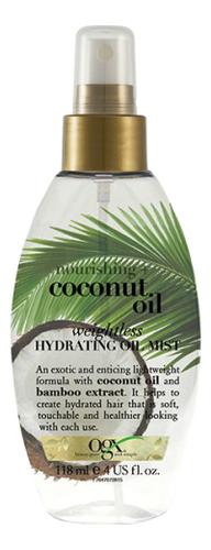 Легкое масло-спрей для волос с кокосовым маслом Nourishing+ Coconut Oil Weightless Hydrating Mist 118мл недорого