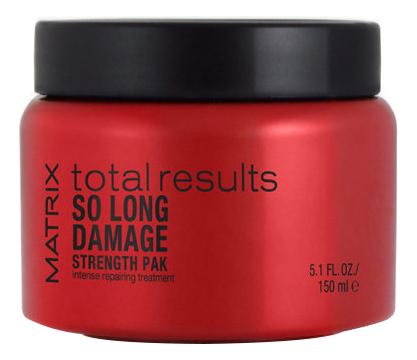 Купить Восстанавливающая маска для волос Total Results So Long Damage 150мл, MATRIX