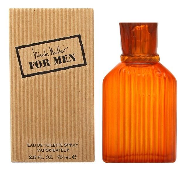 Купить For men: туалетная вода 75мл, Nicole Miller