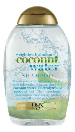 Шампунь для волос с кокосовой водой Weightless Hydration+ Coconut Water Shampoo 385мл