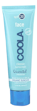 COOLA Suncare Солнцезащитный крем для лица Face Classic Sunscreen Unscented SPF30 50мл