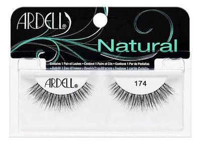 Фото - Накладные ресницы Natural Lashes: No 174 накладные ресницы strip lashes brown no 53