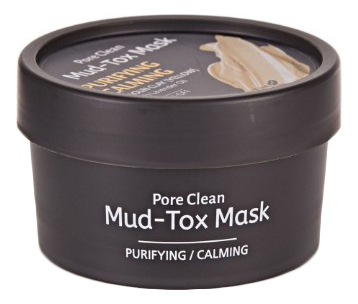 Маска для лица с каолиновой глиной Pore Clean Mud-Tox Mask Yellow 80г маска для лица с каолиновой глиной pore clean mudtox mask yellow 80гр the yeon