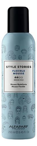 Купить Мусс для волос средней фиксацией Style Stories Flexible Mousse 250мл, Alfaparf Milano