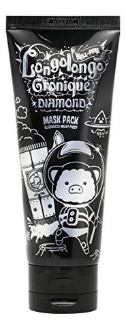 Купить Маска-пленка для лица с алмазной пыльцой Hell-Pore Longolongo Gronique Diamond Mask Pack 100мл, Elizavecca