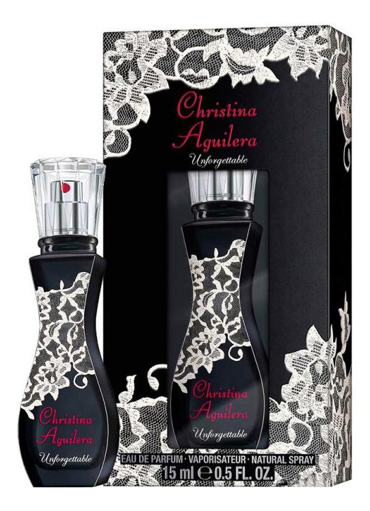Christina Aguilera Unforgettable: парфюмерная вода 15мл гоммаж christina отзывы