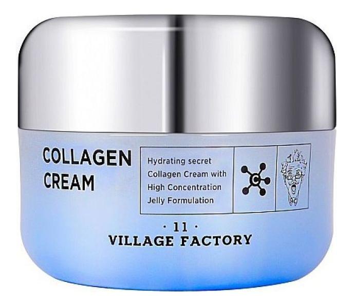 Крем для лица с коллагеном Collagen Cream 50мл: Крем 50мл крем для лица с коллагеном и растительными экстрактами collagen herb complex cream 180мл
