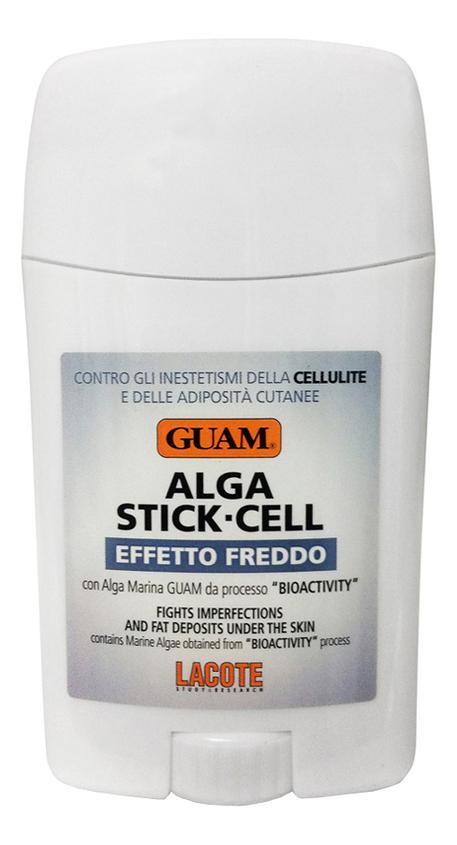 Фото - Антицеллюлитный стик с охлаждающим эффектом Alga Stick-Cell Effetto Freddo 75мл guam набор антицеллюлитный с охлаждающим эффектом