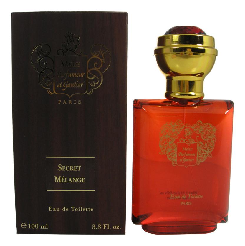 Maitre Parfumeur Et Gantier Secret Melange: туалетная вода 100мл maitre parfumeur et gantier jardin du nil парфюмерная вода 120мл тестер